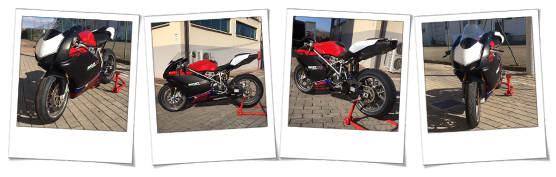 Carena in ABS per Ducati 999 pista
