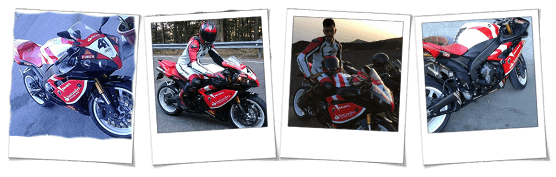 Carena in abs per Yamaha R1 replica Suoperbike Haga 41 Santander personalizzata