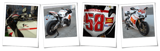 Carena in abs Simoncelli replica per Honda CBR 1000 RR