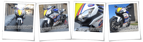 carenatura in abs per Honda CBR 1000 RR Rothmans