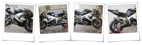 carenatura in abs per yamaha r1 West replica
