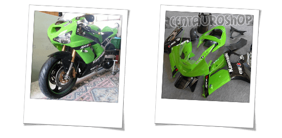 commento per la carena in abs per Kawasaki zx6r sbk 2003 2004